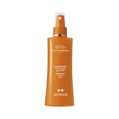 Institut Esthederm Adaptasun Soin Bronzant Spray Lacté soleil normal-fort ** allesvoorschoonheid.nl