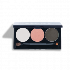 Mineralogie Trio Pressed Eye Shadow Champagne